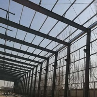 High quality prefab steel structure house warehouse fabrication company.