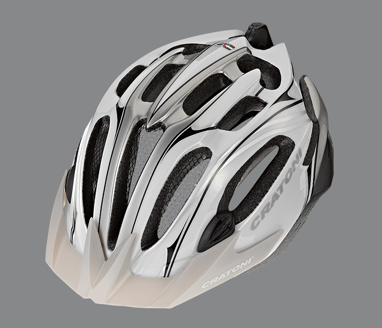 Free shipping CRATONI C STREAM mountain bike light helmet