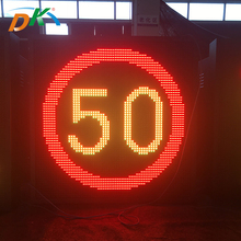 Road speed limit led display sign,highway display sign,VMS display