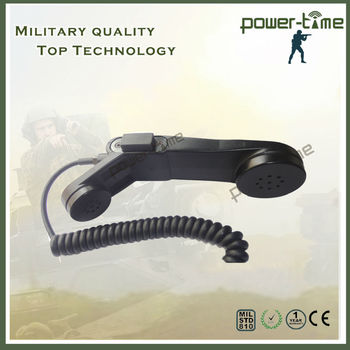 Military Handset For Harris Uh Hhc-731 Radio Pte-m004