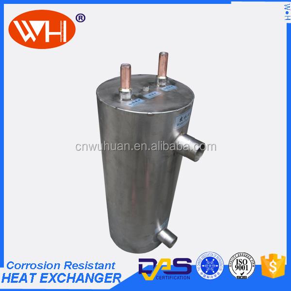 Piscine pompe chaleur titane tube changeur de chaleur for Piscine a tube