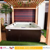 5 or 6 Person Outdoor Spa Bath Massage Hot tub Parts Red Cedar Hot Tub