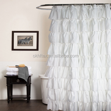 Double Swag Shower Curtain With Valance Wholesale Suppliers