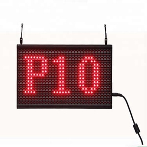 Moving indoor electronic message board for catering/hospital/bank/school