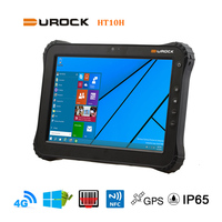 4G LTE Tablet 10 Inch Windows with Sunlight Visible Screen Ublox GPS and Truck Mounts