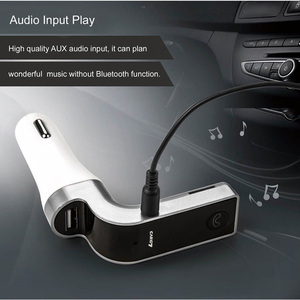 USB port car mp3 player fm transmitter modulator with usb sd slot