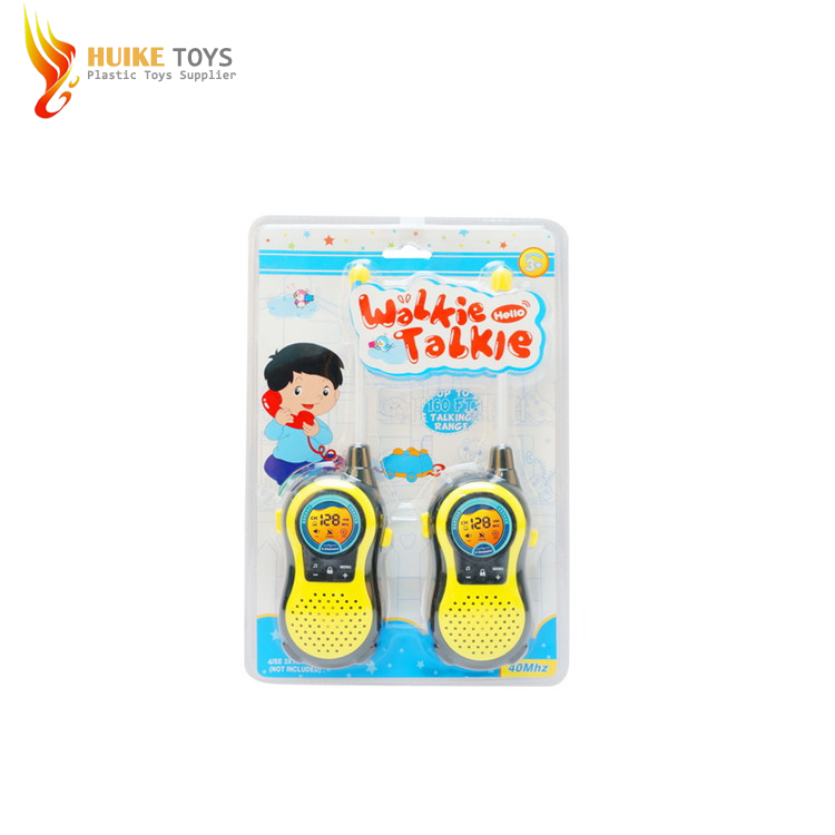 New Plastic electric interphone walkie talkie toys for children