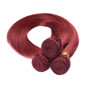 China factory wholesale one tone straight hair high temperature synthetic hair wefts customized fake hair