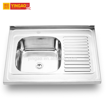 Fantasy design single bowl topmount kitchen sink