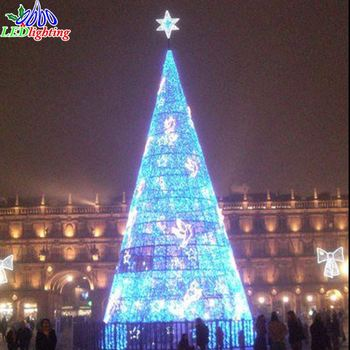 Christmas Tree White Lights.Led Spiral Tree Outdoor Metal Frame Giant Christmas Tree White Red Ball Led Light Ce Rohs Outdoor Lighted Trees Buy Led Spiral Tree Outdoor Metal