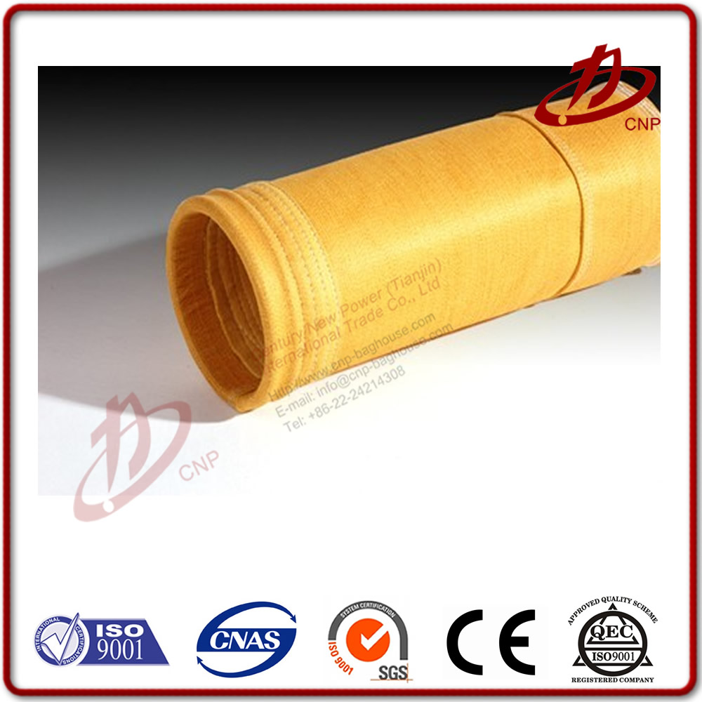 Aramid Nemox Filter Bag For Used Coal Boiler And Power Plant