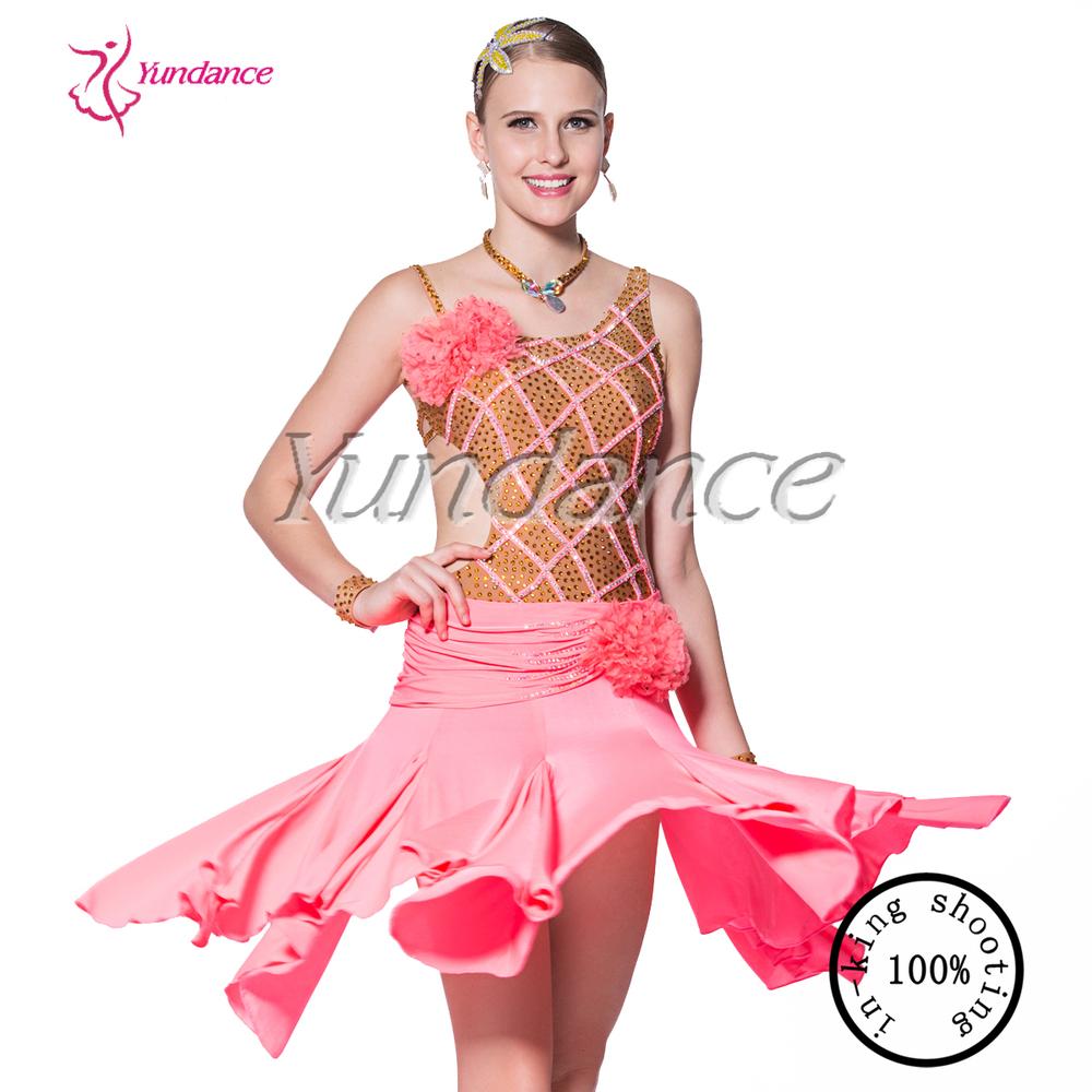 2015 Nueva Sexy Y Artística Gimnasia Leotardo Danza Latina Vestido L ...