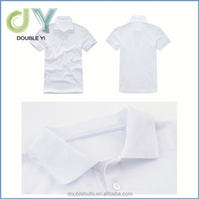 China manufacture high quality prue colour combed cotton Polo T Shirt