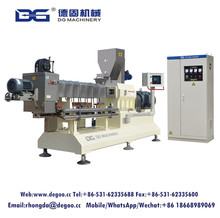 Ce certificate corn flakes breakfast cereal making equipment choco flavoured corn flakes extruder machine