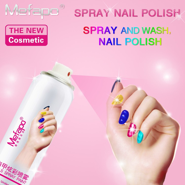Mefapo Custom Colorful Nail Polish Spray With Custom Logo - Buy Nail ...