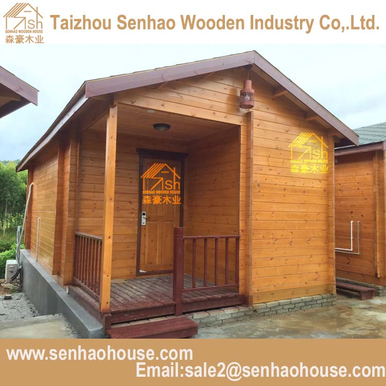 Leisure Villa Prefabricated Wooden House/insulation wooden house log cabin company