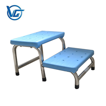 Hospital Step Stool Two Layers Patient Portable Footrest