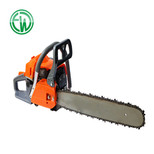 Gasoline Power 2-Stroke Single Cylinder Feature hand-held Chainsaw for Gardening