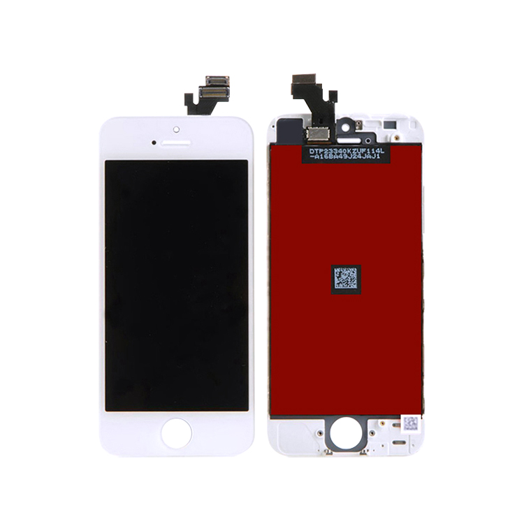 Tianma AAA lcd full touch screen substituição digitador assembléia para o iphone 5 5C 5S LCD