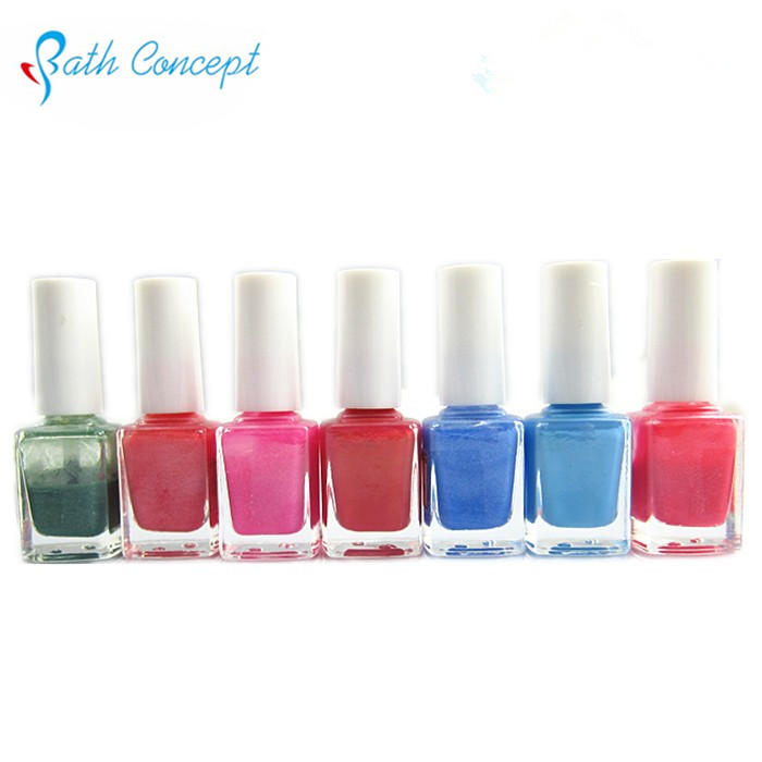 OEM Natural pigment glitter Nail Polish for kids