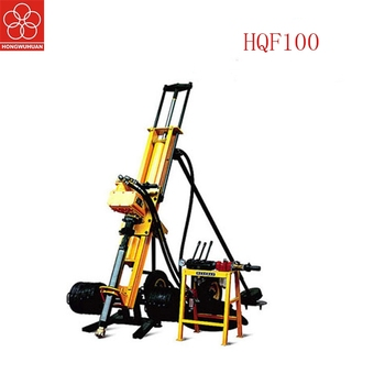 Easy 4kw Pneumatic Dth Drilling Rig Good Quality Machine With Air Compressor For Sale Rock Electric Rotary Down The Hole Drill