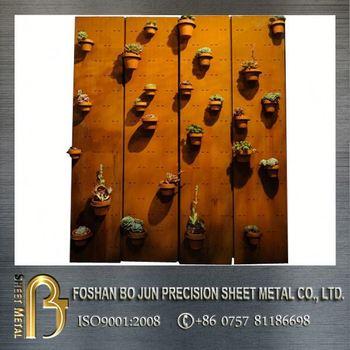 Custom Decorative Door Frame Corten Steel Door