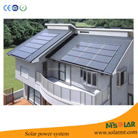 whole solar system 2KW solar power station