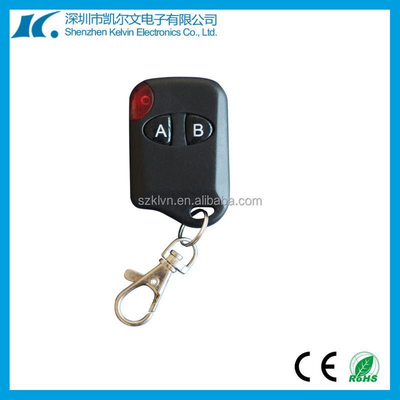 Universal car key rf wireless cat eye remote control with 2buttons KL216