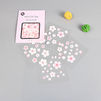 Japanese Flowering Cherry Sakura Travel Series PVC DIY diary decoration paper sticker