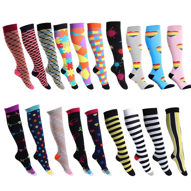 For Men Women Knee High athletic calf compression socks medical, Customized colors