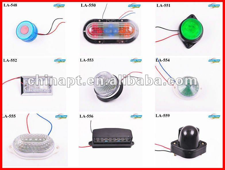 Personal Vehicle Emergency Warning Strobe Light spider led car light