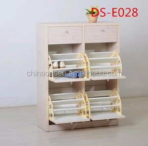 Modern glass furniture shoe storage cabinet chinese antique shoe cabinet