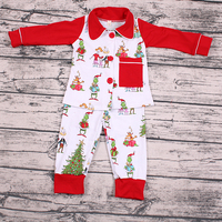 2019 yawoo christmas santa red tops and pants baby clothing sets with bag beautiful taiwan children clothes outfits