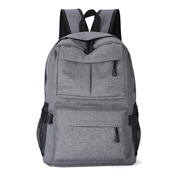 f59980b631d9 2018 best selling Computer Backpack grey Laptop backpack bag with USB