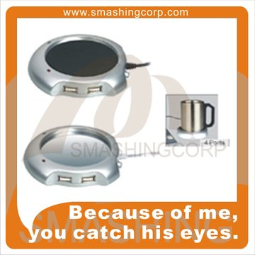 Coffe Mug Warmer USB HUB For Promotional Gift