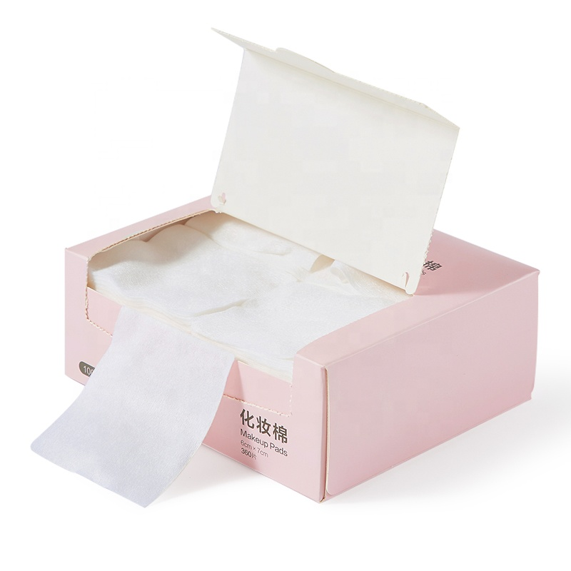 Facial cleaning up remover doekjes wegwerp cosmetische tissue absorberende katoenen pads