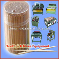 Complete machine to make toothpicks Bamboo Toothpicks Wood Toothpicks