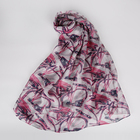 Fashion Promotion Turkey shawl hijab women printed ladies silk scarf