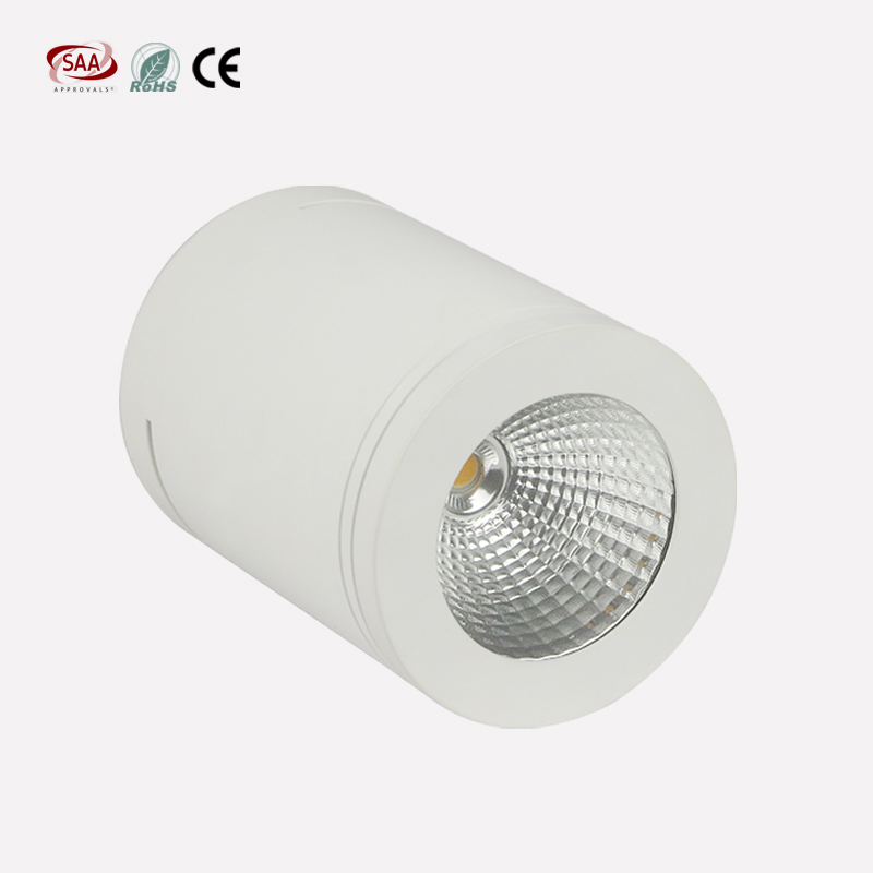 Whole sale aluminium 2.5inch surface mounted cob led <strong>downlight</strong> 7W with 3 years guarantee