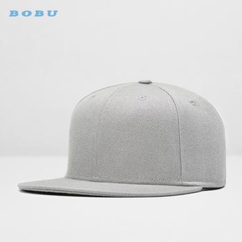 38fab940cad8 BOBU Brand custom blank caps hats hip hop snapback cap with your own logo