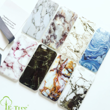 Marble Custom IMD Printing Soft TPU Cell Phone Case For iPhone 7 OEM Accept