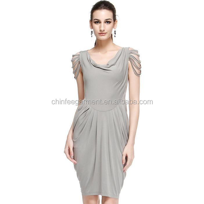 D360 China Garment Woman Knit Fashion Design Casual Dresses Cocktail