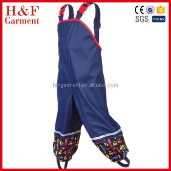 22cb3e05b4eb2 Pas cher bébé bavoir pantalon vêtements de pluie pour enfants en plein air  combinaison