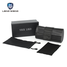 Wholesale Custom Personalized Cheap Leather Sunglasses Case