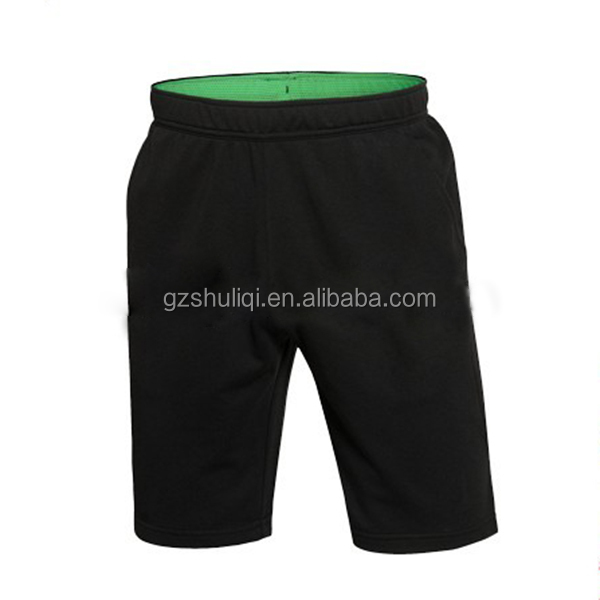 Wholesale OEM Sweat Shorts Men Running Sport Plain Sweat Shorts Cotton Jogger Shorts