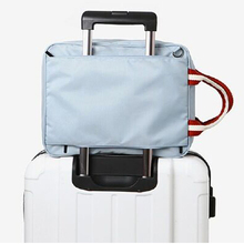 Hot selling high quality across draw bar luggage organiser travel bag