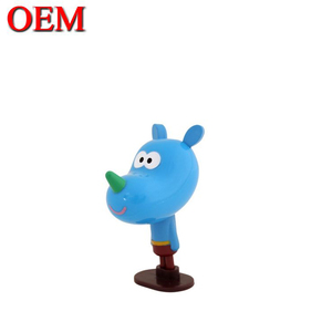 Customized Plastic Cartoon Dog Character Figurines