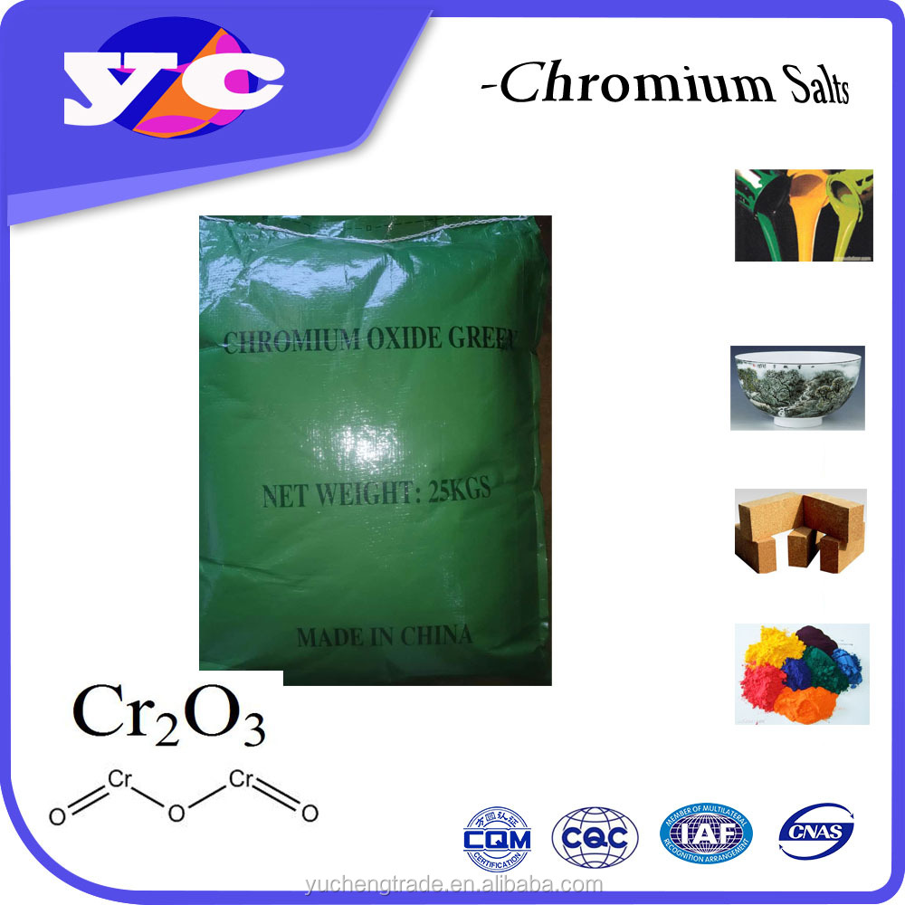 Competitive Price chrome oxide green high pressure medium speed grin 99.3%