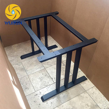Design Dining Table Base, Heavy Duty Sturdy Steel Base Table Legs