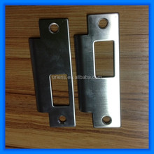 Stamping Steel Door Frame Hole Cover Strike Plate Made in China